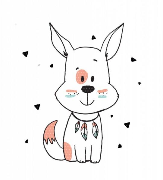 Plottervorlage BOHOliebe Hund