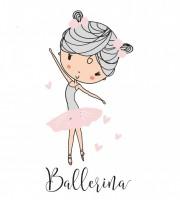 Applikationsvorlage Prima Ballerina