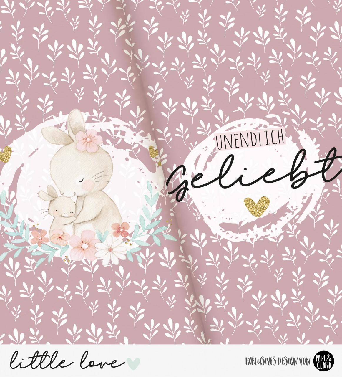 little love - Panel Hasenmama MALVE *Bio-Jersey*
