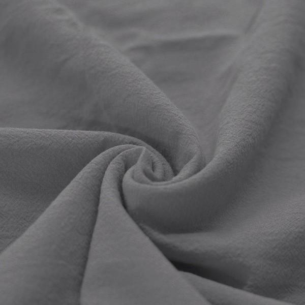 Stonewashed Baumwolle - Grau