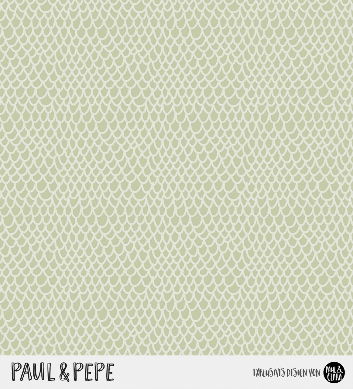 Paul & Pepe - Kombi Grün *Bio-Jersey*