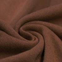 Feinstrick Strickstoff Baumwolle - Braun