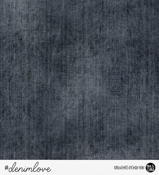 denimlove - Jeans Schwarz *Bio-Jersey*