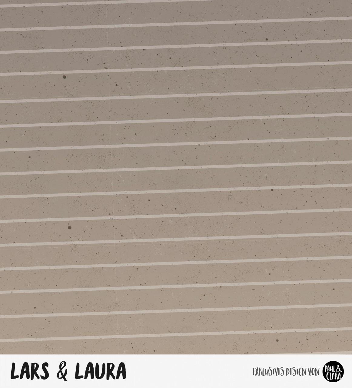 Lars & Laura - Kombi Braun *Bio-Sommersweat*