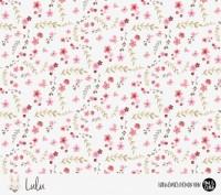 Eigenproduktion Lulu *Blumen* Kombi - Sommersweat