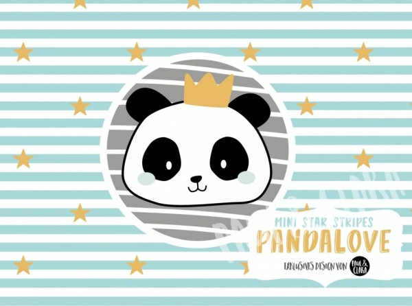 Eigenproduktion Pandalove - Mini Lovely Stripes Türkis