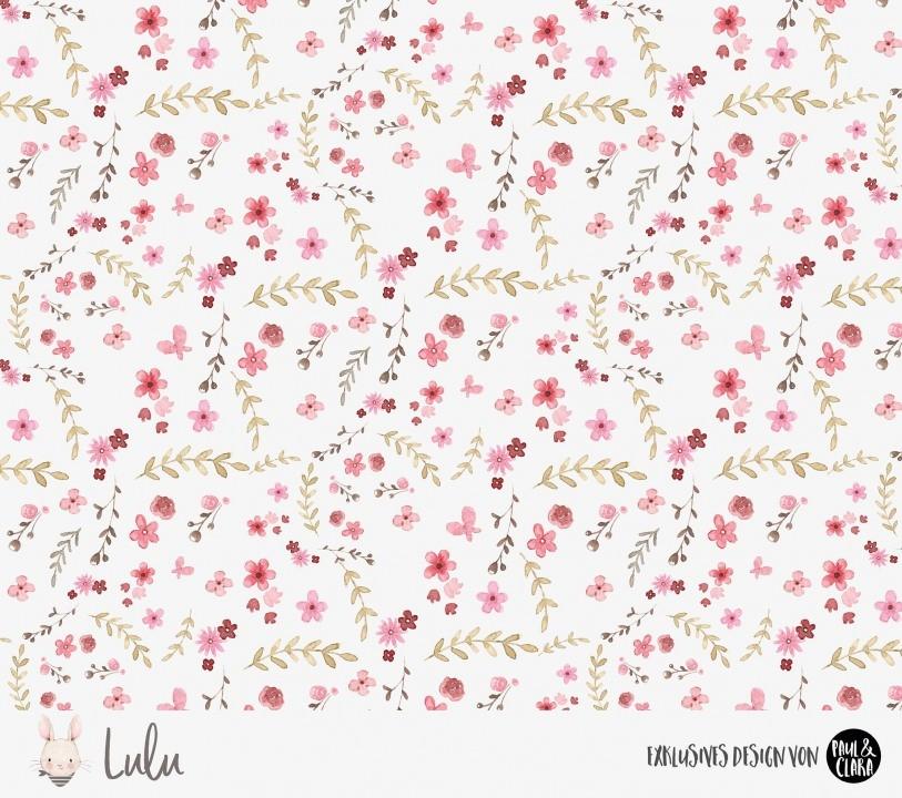 Eigenproduktion Lulu *Blumen* Kombi - Jersey