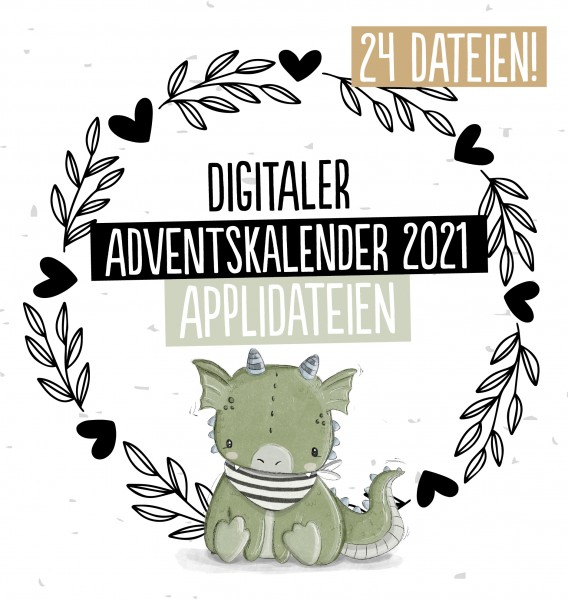 Adventskalender Applikationsvorlagen *2021*