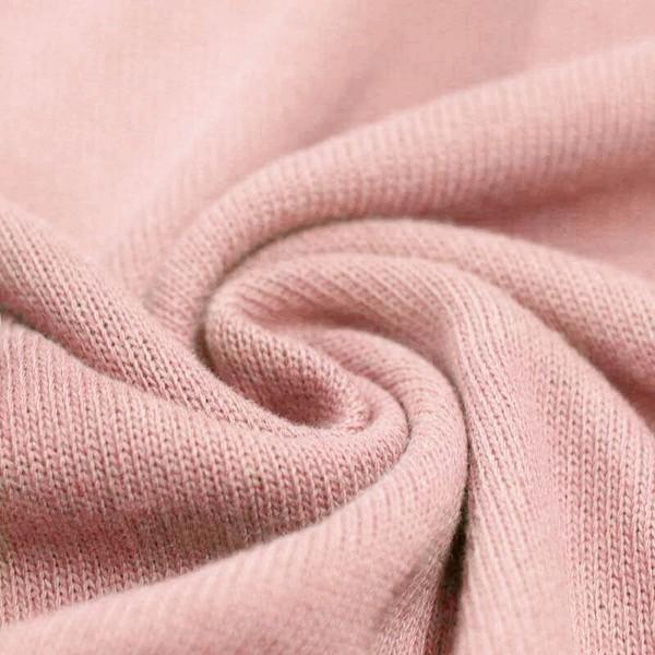 Feinstrick Strickstoff Baumwolle - Hellrosa