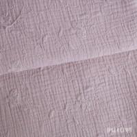 Baumwolle Musselin bestickt - Altrosa