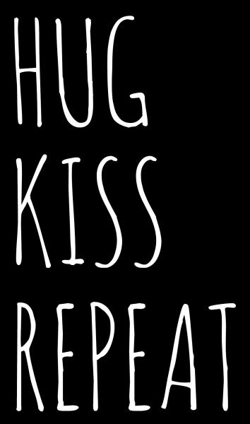FREEBIE Hug Kiss Repeat