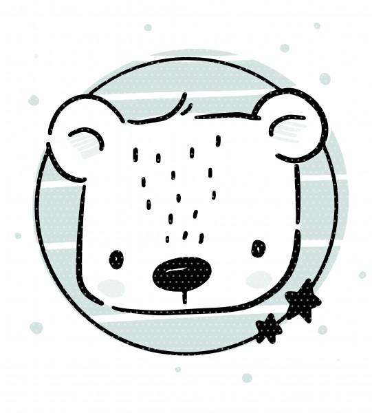 Stickdatei Eisbär Erik