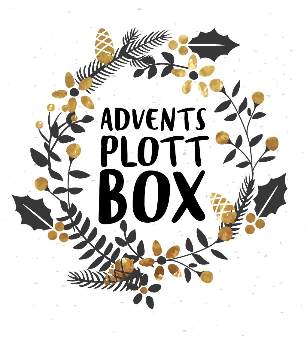 Adventskalender Plottbox - DIY Projekte für deinen Plotter inkl. Vorlagen, Material und Anleitung