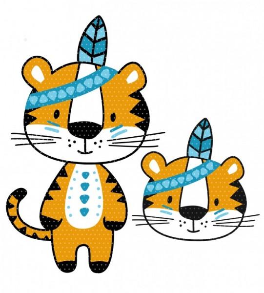 Plottervorlage Boho Tiger