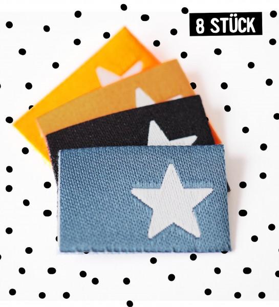Label Sterne #1 - 8er Pack