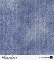 67 cm RESTSTÜCK-denimlove - Jeans Navy *Bio-Sommersweat*-