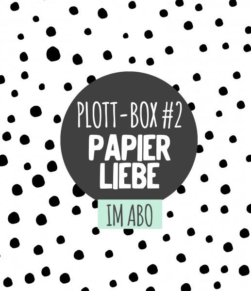 3er Abo Plottbox - DIY Projekte für den Plotter inkl. Vorlagen, Material und Anleitung