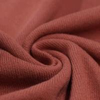 Feinstrick Strickstoff Baumwolle - Rost