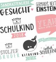 Plottervorlage Durchstarter Schule, Kita & Krippe 2018