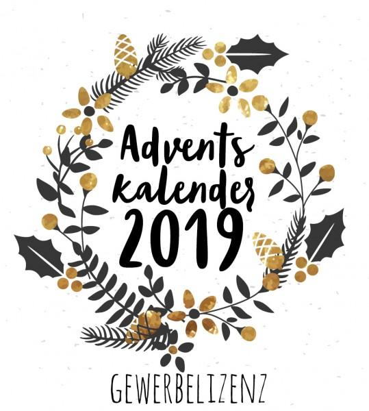 Gewerbelizenz Adventskalender