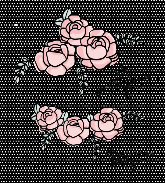 Plottervorlage Kuschelhase - Blumen