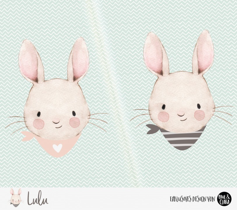 Eigenproduktion Lulu *Halstuch* Panel - 60 cm - Jersey