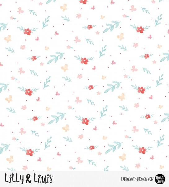 VORBESTELLUNG Eigenproduktion Lilly & Louis - Kombi Blumen *Jersey*
