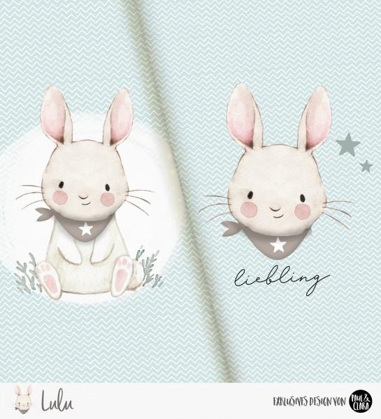 Lulu - Panel Halstuch Mint *Bio-Jersey*