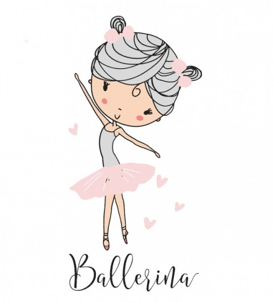 Plottervorlage Prima Ballerina