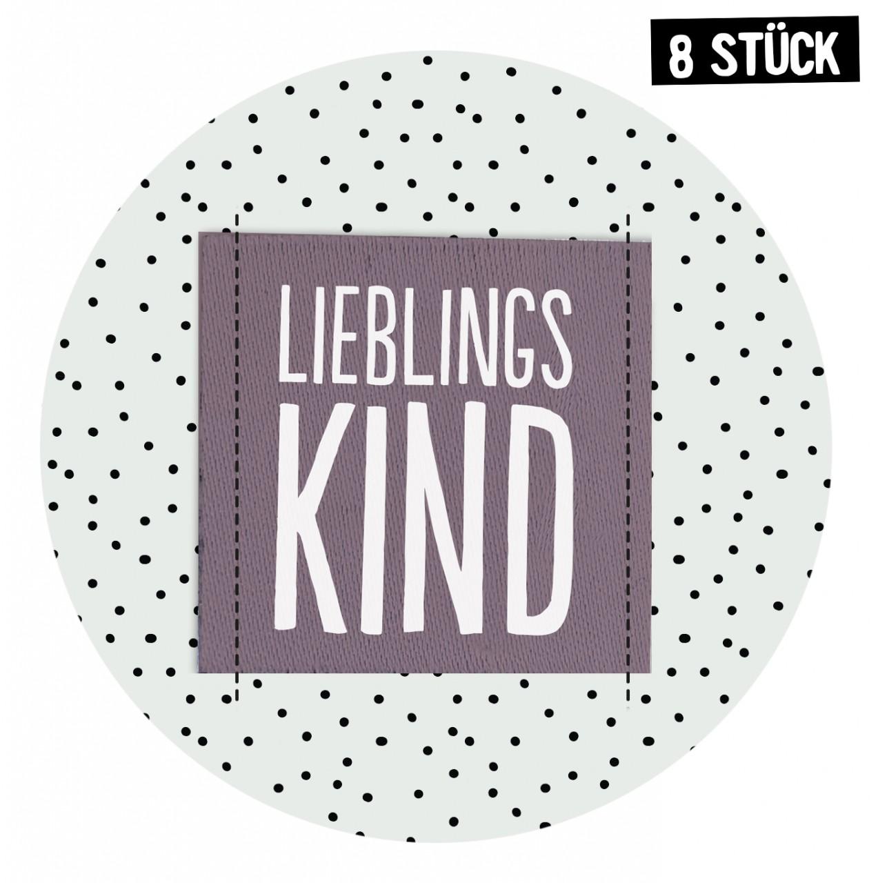 Label Lieblingskind *Malve* - 8er Pack