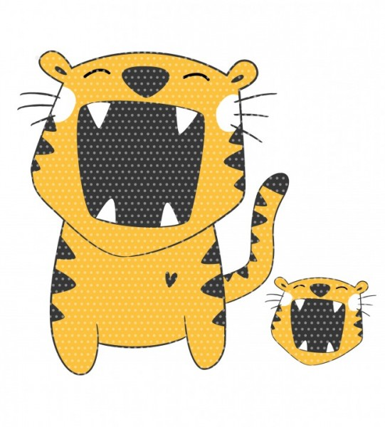 Applivorlage Teo Tiger