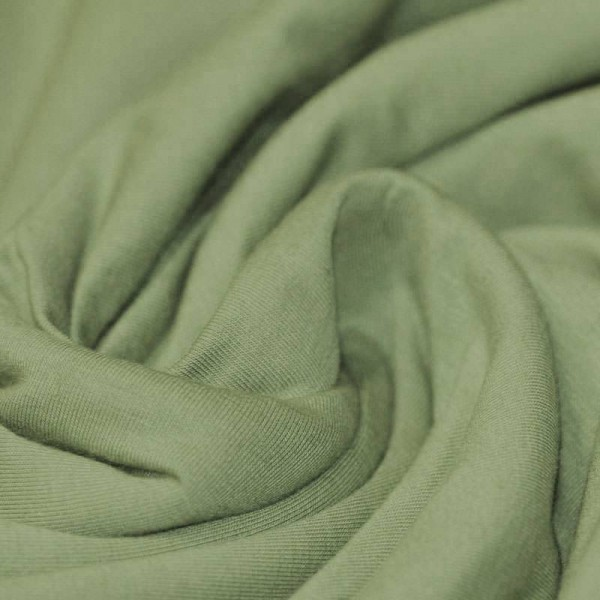 Jersey Uni - Olivegrün