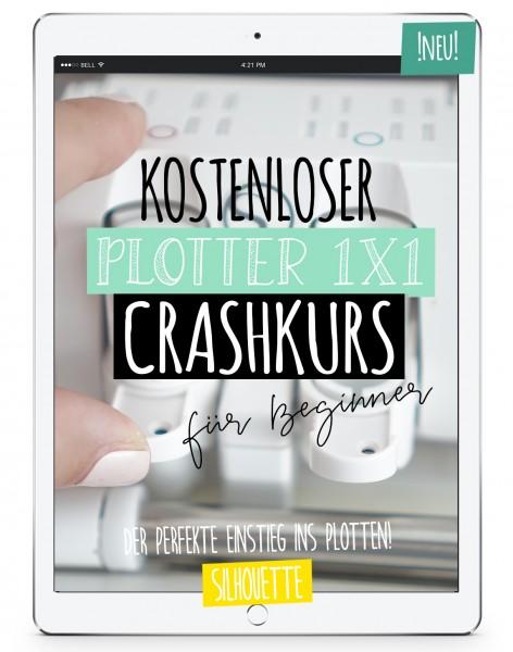 Plotter 1x1 - Kostenloser CRASHKURS für Beginner! *SILHOUETTE*