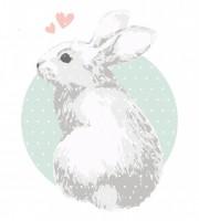 Plottervorlage bunnylove
