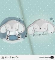 Mila & Milo - Panel Mint *Bio-Jersey*