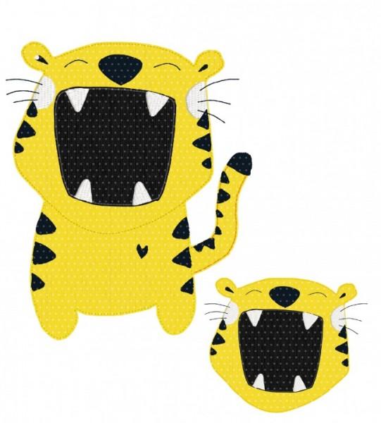 Stickdatei Teo Tiger