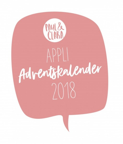 Adventskalender 2018 Applikationsvorlagen