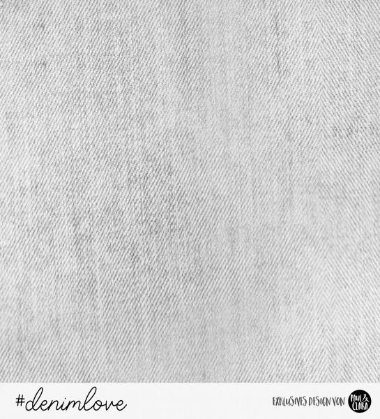 denimlove - Jeans mausgrau *Bio-Sommersweat*