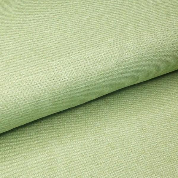 Bündchen - Hellgrün Meliert *Schlauchware*