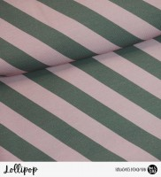 Lollipop - Altrosa/Eukalyptus *Bio-Jersey*