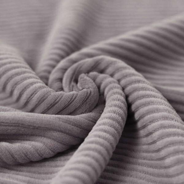 54 cm RESTSTÜCK-Nicki Breitcord Jersey - Grau-