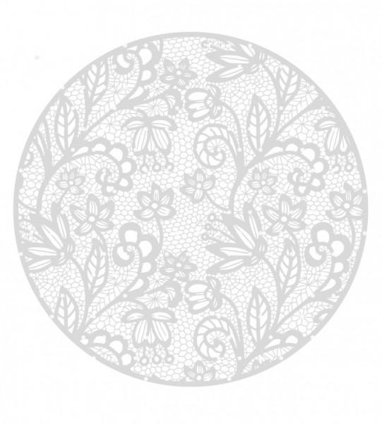 Plottervorlage Lace Circle
